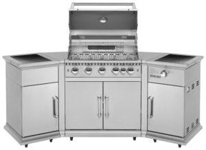 Outdoor Küche Edelstahl Türen : Grillküche mit gasgrill mehr komfort für dich alternative zum